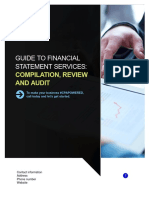 Financial Statement Services Guide