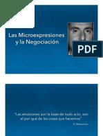 Las Microexpresiones en La Negociacion