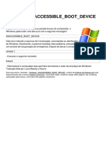 Windows Inaccessible Boot Device 7807 Lhg7im