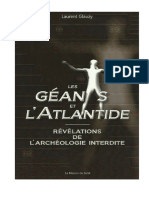 Les Géants Et l'Atlantide - Laurent Glauzy