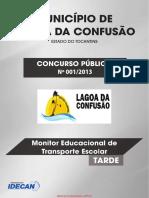 Monitor Educacional de Transporte Escolar