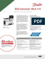VLT Profibus Converter MCA114