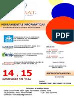 Afiche Curso Herramientas Informaticas