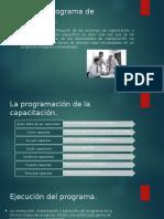Diseño de Programa de Capacitación