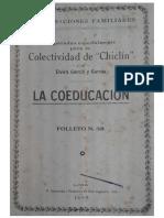 Elvira Garcia y Garcia - Coeducación