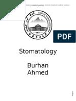 [Stomatology]