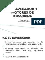 El Navegador y Motores de Busqueda-cap 7-8
