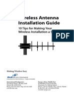 Wireless Antenna Installation Guide FINAL Electronic