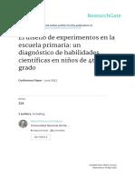 Di Mauro y Furman El Diseño de Experimentos en La Escuela