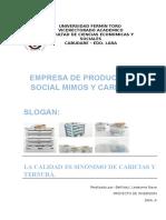 Empresa de Producción Social Mimos y Caricias