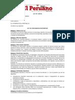 Ley Nº 30479 Ley Del Mecenazgo Deportivo 2016
