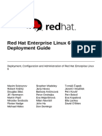 Red Hat Enterprise Linux 6 Deployment Guide
