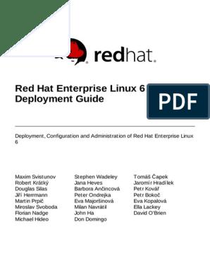 Red Hat Enterprise Linux 6 Deployment Guide | Computer Keyboard