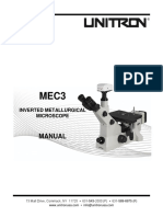 MANUAL MEC3 Inverted Microscope Series