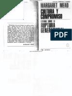 Mead-Cultura y Compromiso (Completo)