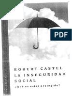 3- Castel - La Inseguridad Social