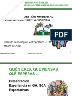 ISO 14001 (SGMA) rial