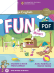 Fun for Movers Student's Book 3d edition