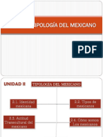 Diapo Unidad 2 Tipologia Del Mexicano
