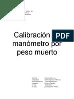 Informe Lab Nº2 Termodinamica
