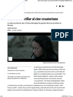 Alba Hace Brillar Al Cine Ecuatoriano