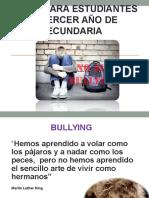 Taller Bullying Para Chicos de Tercero de Secundaria