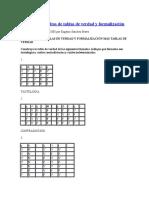 50321142 Ejercicios Resueltos de Tablas de Verdad y