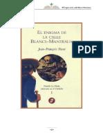El Enigma de La Calle Blancs-Manteaux - Jean-Francois Parot