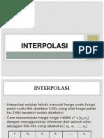 interpolasi