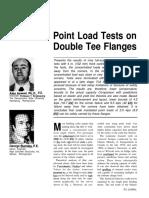 Reference #32 - JNL-JA91-1 Point Loads on DT Flanges