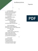 02 Los Presocráticos - Fragmentos Filo 1 UAGro