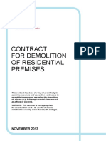 Demolition Contract