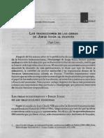 LAs TRADUCCIONES DE LAS OBRAS de icaza al francés.pdf