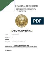 Laboratorio-1  quimica FIIS UNI