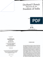 Deoband Ulama's Movement for the Freedom of India