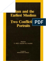 Islam and the Earliest Muslims; Two Conflicting Portraits by SHEIKH ABUL HASAN ALI NADVI (RA)