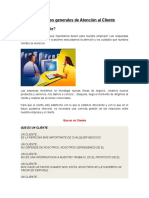 Conceptos Generales de Atención Al Cliente