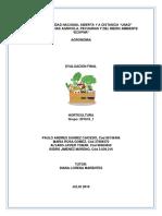 Productos Gama II, Horticultura