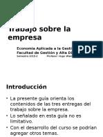 Guía Trabajo Sobre Empresa