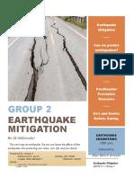 Earthquake Mitigation