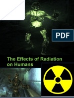 The Effects of Radiation on Humans PP