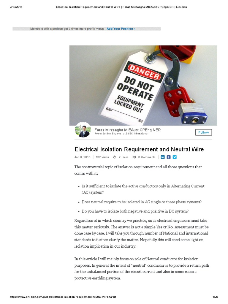 Modern What Does The Neutral Wire Do Gift - Wiring Diagram Ideas ...