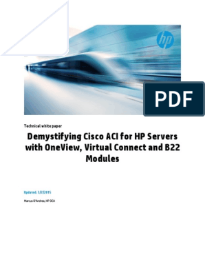Cisco Ac i for Hp Virtual Connect | Representational State