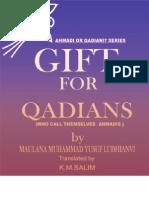 Gift for Qadians by Sheikh Muhammad Yusuf Ludhyanvi (r.a)