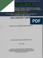 Project Cirrus Progress Report No. 6