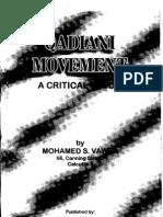 Qadyani Movement by Muhammad S Vawda
