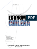 Intervencion Del Estado en La Economia Chilena