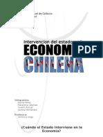 Intervencion Del Estado en La Economia Chilena