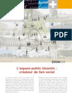 L'espace public bisontin
