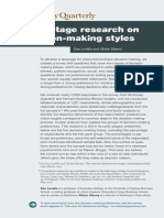 Early-stage research on decision-making styles.pdf